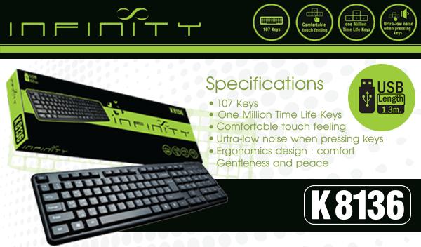 KB Infinity K8136 For Website