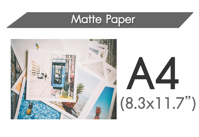 Matte A4