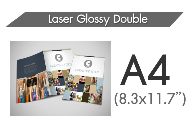 Laser Glossy Double