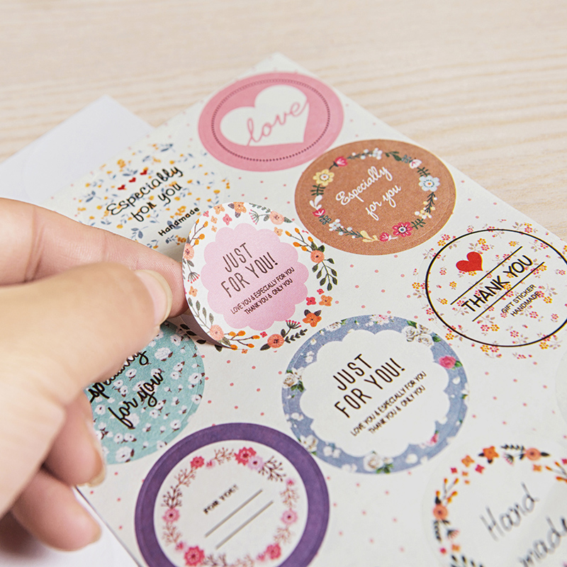 2-sheets-set-korean-small-fresh-floral-label-stickers-diy-stickers-sticker-labels