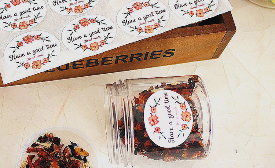 "deco sticker cuisine Beautiful have a good time"" Gift Seal Label Sticker For Bakery Cookie Bag"