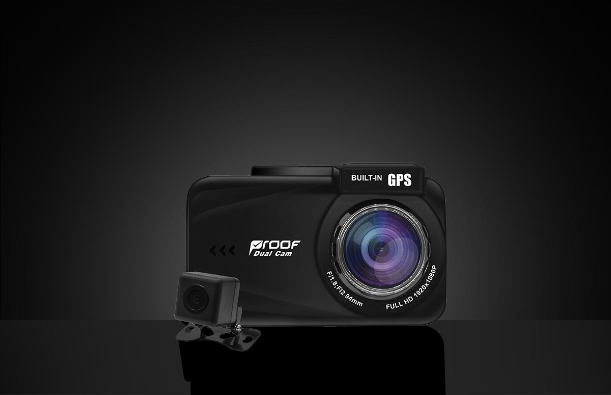 กล้องติดรถยนต์หน้า-หลัง PF800 – Super HD