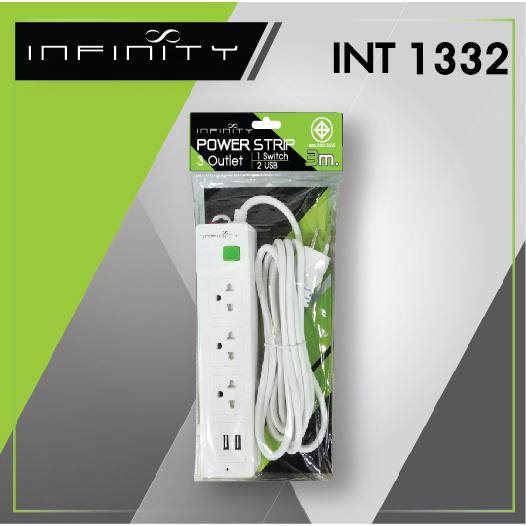 INFINITY Power Strip INT1332 3m.