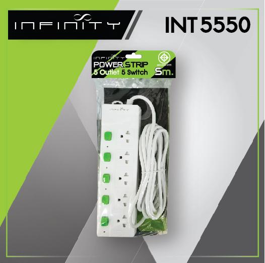INFINITY Power Strip INT5550 5m.